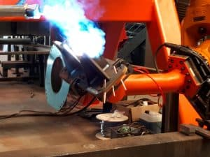Welding robot systems